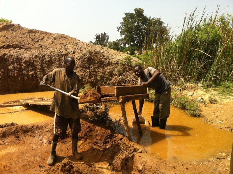 Kenyan artisanal miner