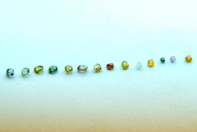 Alluvial Diamonds from Congo