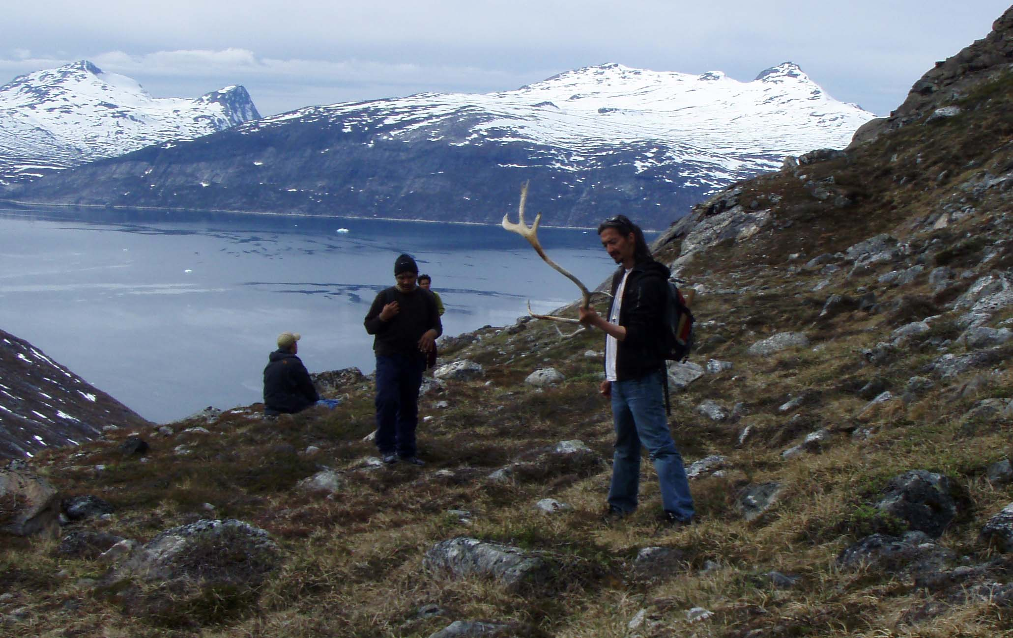 Traditional Ruby Prospecting Greenland - A Indigenous way of life.