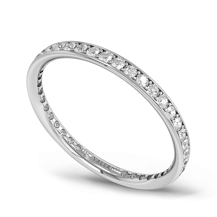 Diamond and Fairtrade White Gold Eternity Ring
