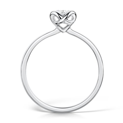 Solitaire Brilliant Cut Diamond with a bezel setting
