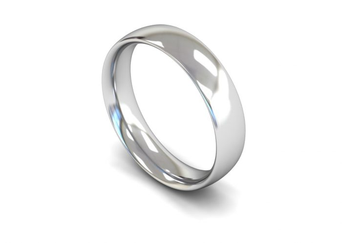 Traditional Court FairTrade Gold Wedding Ring