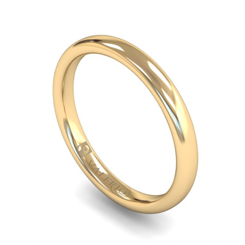 Slight Court FairTrade Gold Wedding Ring